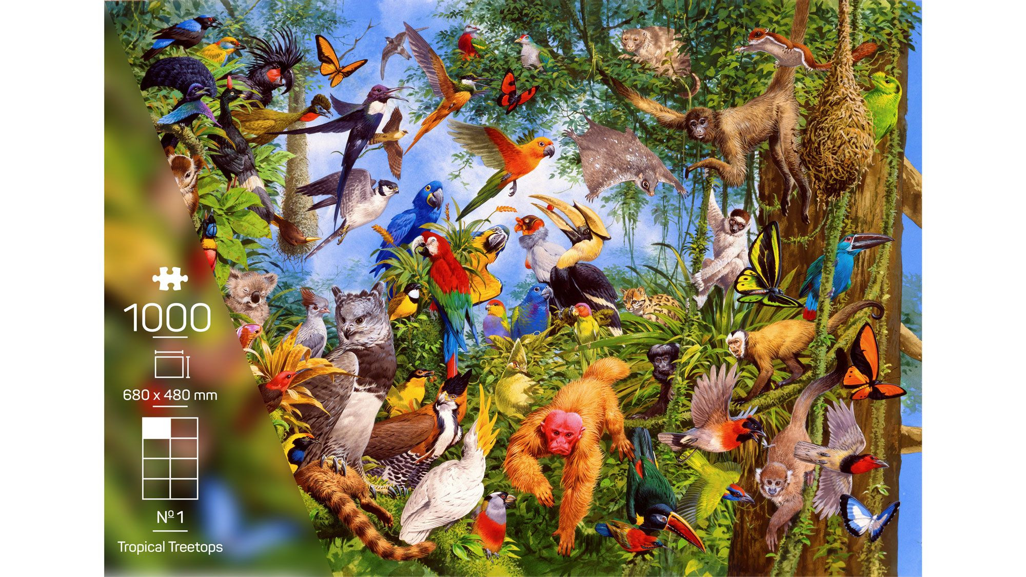 The Wildlife Collection – Nr. 1 Tropical Treetops
