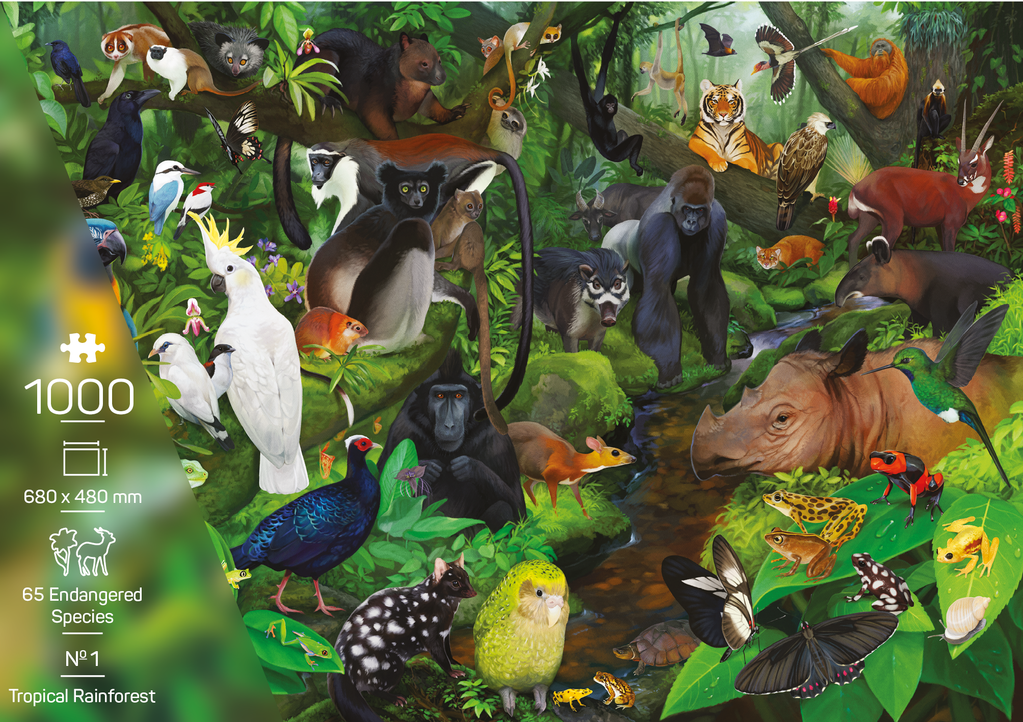 The Endangered Species Collection – Nr. 1 Tropical Rainforest